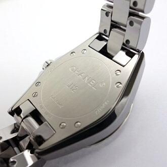 【中古】シャネルJ12クロマティック33ミリレディースダイヤ入りH2565