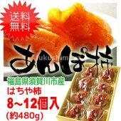 【あす楽対応】【送料無料】はちや柿のあんぽ柿(約480g)532P19Mar16