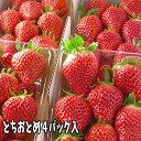 プリップリ新鮮な甘い『とちおとめ』。そのまま食べても練乳をかけてもとっても美味しいイチゴ...