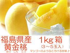 マンゴーのような桃『黄金桃1kg箱(3〜5玉入)』