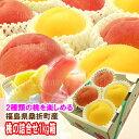 【送料無料】『黄金桃等の黄色い桃と特秀品桃を一緒にした夢の詰合せ♪1kg箱(3〜5玉入)』