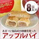 しっとりサクサク♪かんのや特製の一口アップルパイかんのや『福島のりんご アップルパイ(8個入...