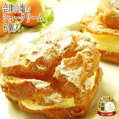 【送料無料】山塩シュークリーム