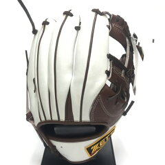 ゼット(ZETT) プロステイタスオーダー 軟式内野手用グラブ BRGPRO ブラック×ホワイト