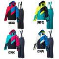 デサント(DESCENTE)ジュニアスキーウェア上下セットDWJMJH92スノーウェア子供のびのびパートナーヒートナビ