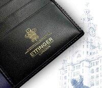 【ETTINGER/エッティンガー】■BLACK-PURPLEEUROコレクション(ウォレット)806AJR