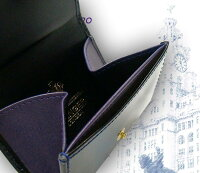 【ETTINGER/エッティンガー】■BLACK-PURPLEEUROコレクション(コインパース/カードポケット付)2034JR