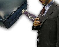 ☆エッティンガー【ETTINGER】■●NAVY-WHITE-PURPLEコレクションZIPPEDWALLET4C/C&COINPURSE(ジップウォレット4C/カード&コインパース)2097JR(メンズ/レザー/コインケース・カード入れ付/BRIDLELEATHER【楽ギフ_包装】