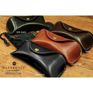 Glen Royal / GLENROYAL ● حالة النظارات الجلدية حالة النظارات اللجام (حالة النظارات) 03-5790 [Giff easy packing]