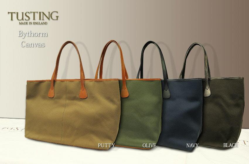 タスティング トートバッグ / TUSTING Bythorn Tote Bag[ Cotton Canvas / コットン・キャンバス ]バイソーン ( バイソン ) トートバッグ:トラッド ハウス フクスミ