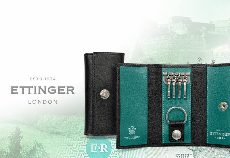 ETTINGER(エッティンガー)『レザーキーケース(ST840AJR)』