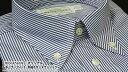 【 MESSENGER 】 オリジナル レギュラーフィット 半袖ボタンダウンシャツ ( 100535-29 ★HBD-006 ) ブルーストライプ / ブロード 【楽ギフ_包装】 日本製 1