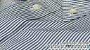 【 MESSENGER 】 オリジナル レギュラーフィット 半袖ボタンダウンシャツ ( 100535-29 ★HBD-006 ) ブルーストライプ / ブロード 【楽ギフ_包装】 日本製 3