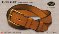 JABEZCLIFF(クリフベルト)馬具からベルト(ブラック)(幅2.8cmタイプ)