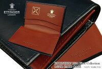 【ETTINGER/エッティンガー】1934ファーストコレクションカードケース(限定品)143JRNAVY/DARKTAN(メンズ/レザー/カード入れ/名刺入れ/別注/ネイビー×ダークタン)【楽ギフ_包装】【あす楽対応】