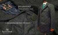 【LAVENHAM/ラベンハム】[STARSTON]ウールキルティングコート