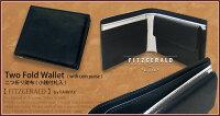 【FAIRFAX/フェアファクス】FITZGERALD■二つ折り財布(小銭付札入)02-001