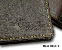 【キプリス/CYPRIS】DeerSkin2(ディアスキン2)/長財布(小銭入れ付き通しマチ束入)2350