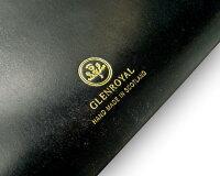 【グレンロイヤル/GLENROYAL】ZIPAROUNDLONGPURS03-6029(NEWBLACK×AUBERGINE)【完全別注商品】