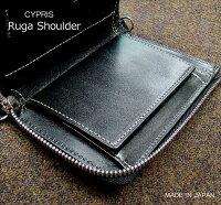 【キプリス/CYPRIS】■RugaShoulder(ルーガショルダー)二つ折り財布(縦型L字ラウンドファスナー札入)8386