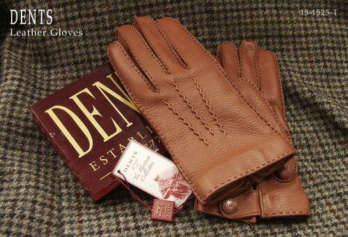 DENTS手袋 / デンツ手袋 / DEERSKIN [ タバコ / TOBACCO ] 15-1525T