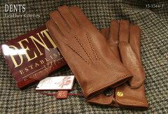 DENTS手袋/デンツ手袋 Deerskin [ タバコ ] 15-1544T 【楽ギフ_包装】