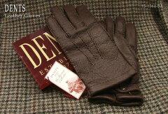 DENTS手袋/デンツ手袋 Peccary/ペッカリー [ ダークブラウン ] 15?1564BA 【楽ギフ_包装】