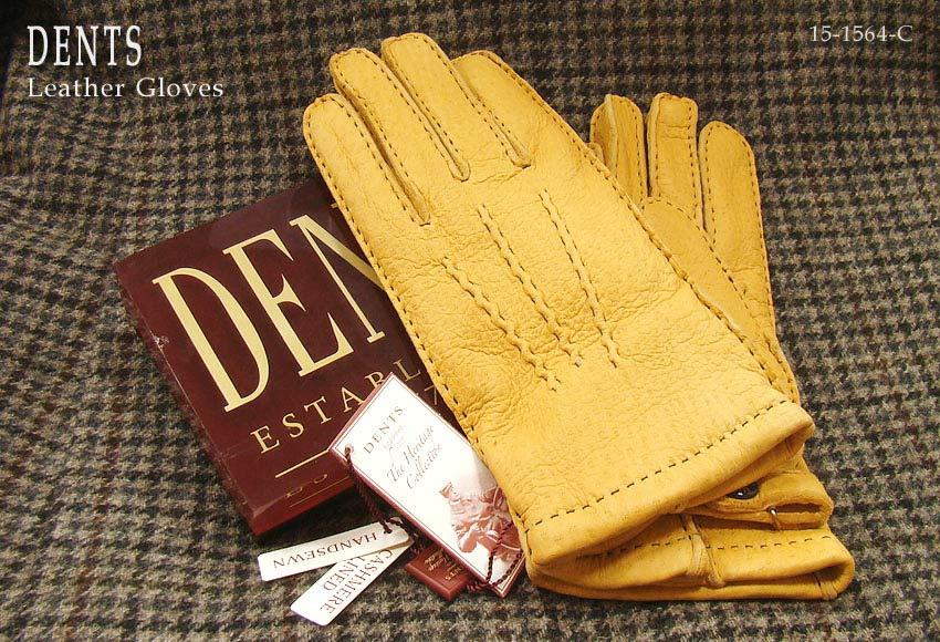 DENTS手袋 / デンツ手袋 / PECCARY / ペッカリー [ CORK / コルク / コーク ] 15-1564C 【楽ギフ_包装】