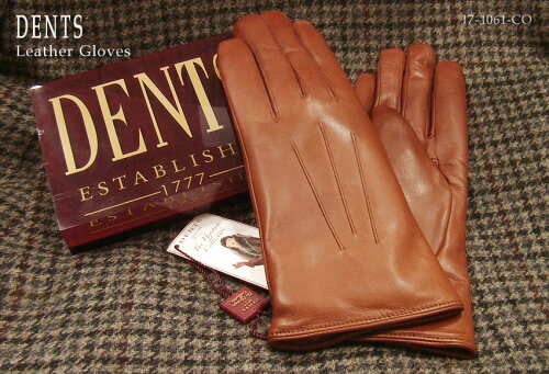DENTS手袋 / デンツ手袋 ( 婦人物 ) SHEEPSKIN / シープスキン ( 羊革 ) [ コニャック / COGNAC ] ...