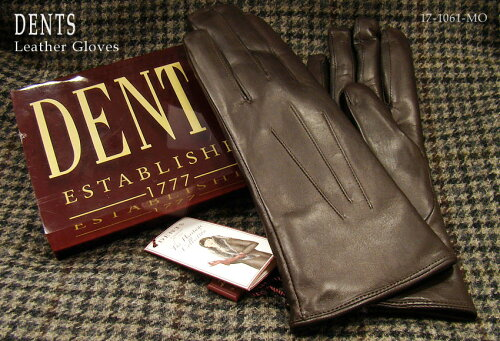 DENTS手袋 / デンツ手袋 ( 婦人物 ) SHEEPSKIN / シープスキン ( 羊革 ) [ モカ / MOCCA ] 17-1061...