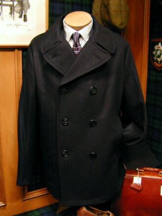 GLOVERALL / グローバーオール Pコート / ピーコート ( ブラック ) P-COAT / メンズ