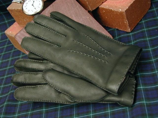 DENTS手袋 / デンツ手袋 / DEERSKIN [ グリーン / HUNTER ] 15-1525H 【楽ギフ_包装】