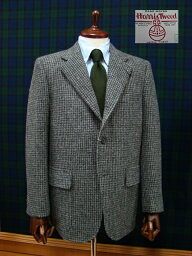 Messenger Fall/Winter Tweed Gray Houndstooth Sack Sportcoat