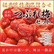 ジャスト2000円税・送料込み!つぶれ梅セット/4個=1kg種類の組合せが選べます!!