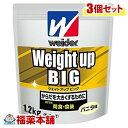 ウイダー ウエイトアップビッグ バニラ味(1.2kg)×3個 [宅配便・送料無料]