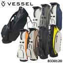 【2021モデル】ベゼル 8530120 プレイヤー3.0スタンド シングルストラップ キャディバッグ 8.5型 約3.4Kg VESSEL Player Stand Bag・・・