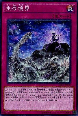 遊戯王 第9期 SR04-JP030 生存境界【スーパーレア】