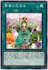遊戯王 第10期 12弾 ETCO-JP072 繁華の花笑み NR