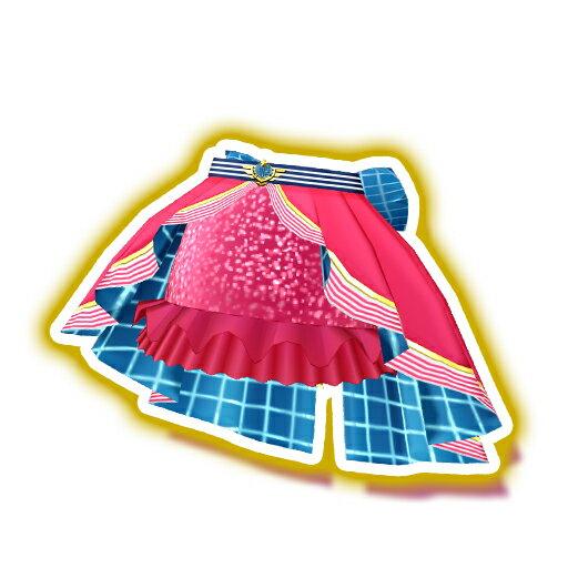 プリパラ【マイチケ】神4弾 ★4-015 エアラインサンライズスカート PR