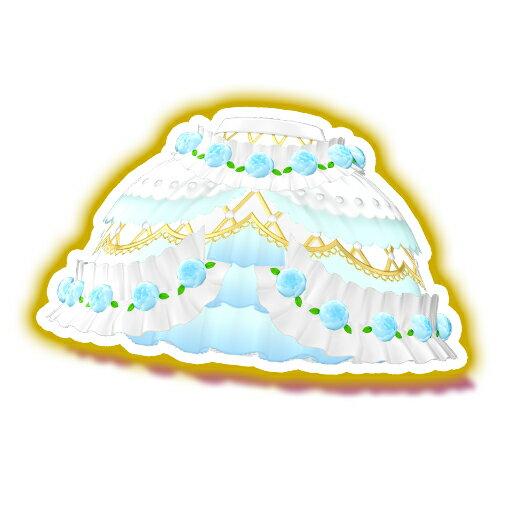 プリパラ 【マイチケ】★T3-036 リトルローズきらびやかスカート SR画像