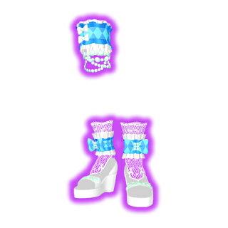 キラッとプリ☆チャン/PCH3-13サマーメイドホワイトスカイシューズPR