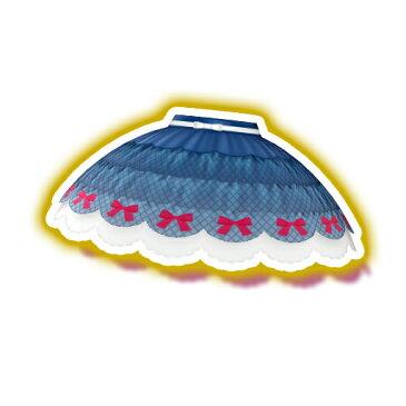 キラッとプリ☆チャン/PCH3-64 ブルーローズリボンスカート N