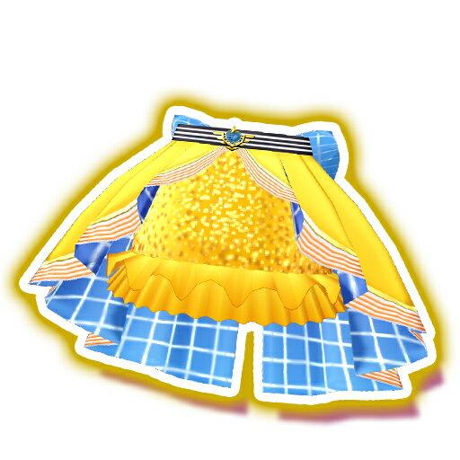 プリパラ【マイチケ】★5-051 エアラインサンセットスカート R