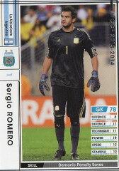 WCCF/13-14/273/アルゼンチン代表/セルヒオ・ロメロ