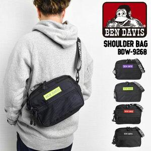 ショルダーバッグ レディース ブランド 斜めがけ 大人 カジュアル ベンデイビス BEN DAVIS メッセンジャーバッグ メンズ ロゴ ブラック ロゴストラップ かばん 鞄 バッグ メッセンジャー おしゃれ ストリート メッシュ ユニセックス 軽量 シンプル キッズ レッド ピンク