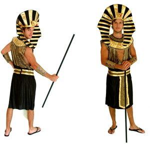 コスプレ衣装 大人用 古代エジプトファラオ|コスチューム 大人 衣装 コスプレ セット コス ハロウィン なりきり ステージ衣装 余興 男性 メンズ 仮装 cosplay エジプト 男性用 王様 面白い おもしろコスチューム 舞台衣装 男 セットアップ ファラオ 古代エジプト MZ05