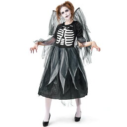 ハロウィン 悪魔 魔女 ヴァンパイア デビル 翼 バンパイア 吸血鬼 コスチューム 大人用 衣装 コスプレ 大きいサイズ 仮装 コスプレ衣装 女性 レディース ハロウイン ハロウィーン 大人 ハロウィン衣装 ハロウィンコスチューム ワンピース