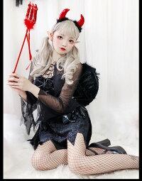 t100コスプレ巫女ハロウィン衣装変装魔女コスチューム仮装二次会小悪魔イベントパーティー魔法使い黒魔女悪魔