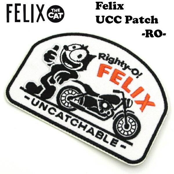 裁縫材料, ワッペン・アップリケ 100OFF 1000Felix UCC Felix UCC Patch Righty-O! WAPPEN