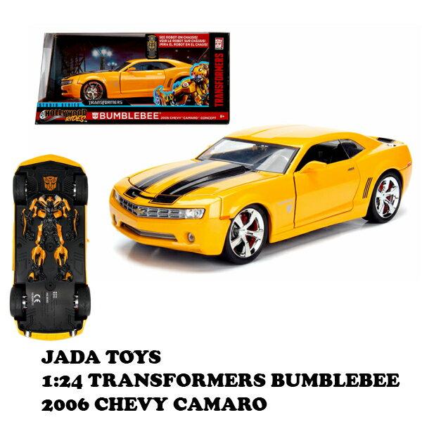 車, ミニカー・トイカー jada toys 124 TRANSFORMERS BUMBLEBEE 2006 CHEVROLET CAMARO